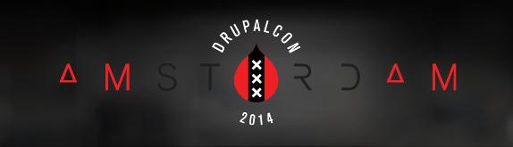 Logo der DrupalCon 2014 in Amsterdam
